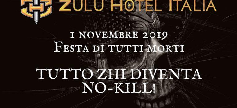 Halloween 2019 – Zhi diventa no-kill